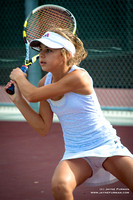 Audrey's Tennis Match