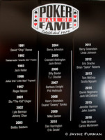 Poker Hall of Fame 2013-2016